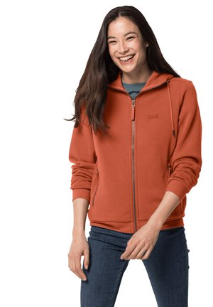 Fleece jacket - saffron orange