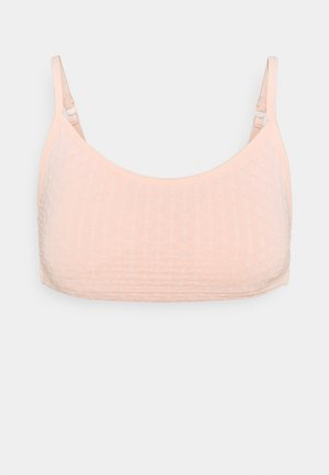 WORKOUT YOGA CROP - Sports bra - pink
