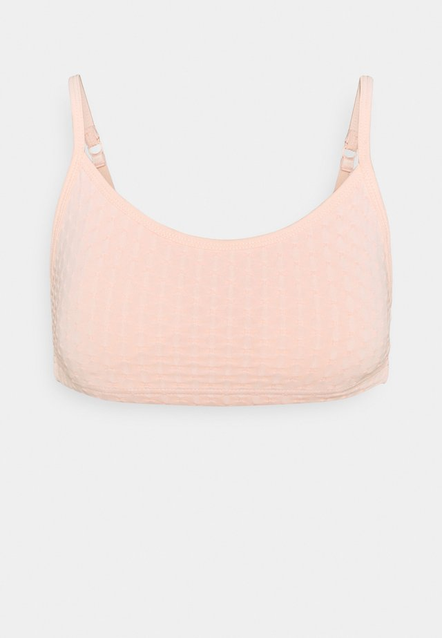 WORKOUT YOGA CROP - Sports bra - pink