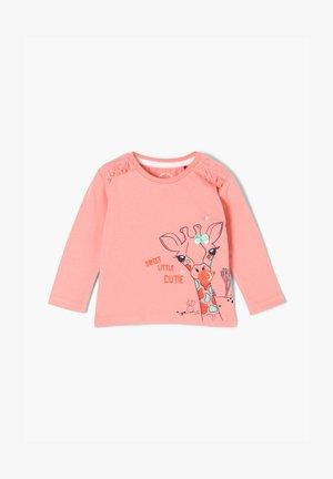 MIT RÜSCHEN - Maglietta a manica lunga - light pink