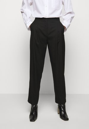 IVY PANTS - Tygbyxor - black