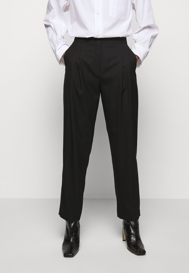 IVY PANTS - Stoffhose - black