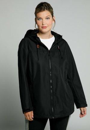 GROSSE GRÖSSEN HYPRAR WASSERABWE - Outdoor jacket - zwart