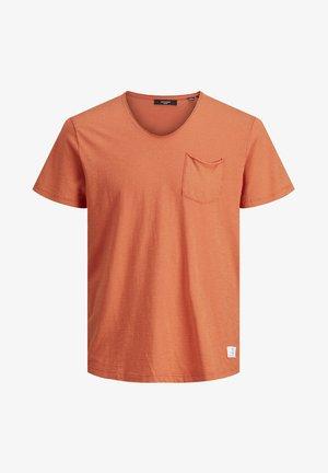 T-shirt - bas - mecca orange