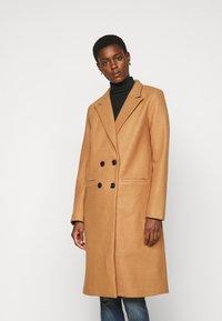 Object Tall - OBJLINA COAT  - Classic coat - doe - 0