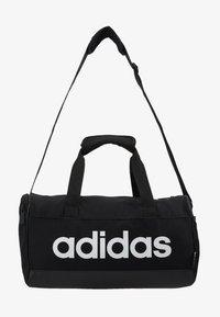 adidas Performance - LIN DUFFLE XS UNISEX - Borsa per lo sport - black/white - 6