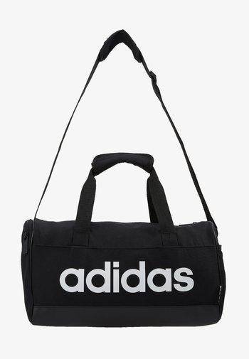 LIN DUFFLE XS UNISEX - Treningsbag - black/white