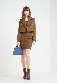 Patrizia Pepe - Shift dress - techno brown - 1