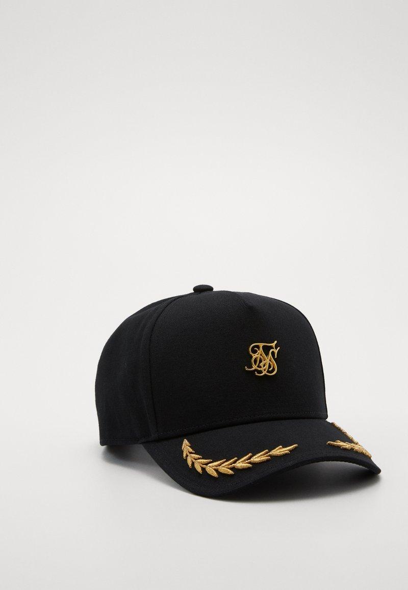 SIKSILK - TRUCKER - Cap - black