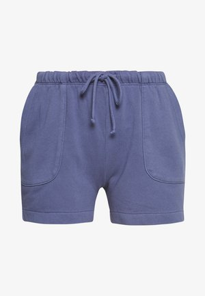 ATTACHED POCKETS - Shorts - silent sea