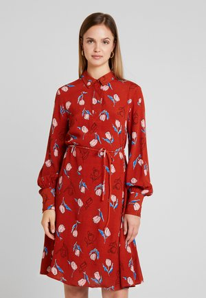 YASELANOR DRESS - Shirt dress - rooibos tea