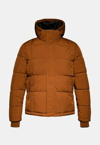 Esprit - BASIC PUFFER - Winter jacket - toffee - 9