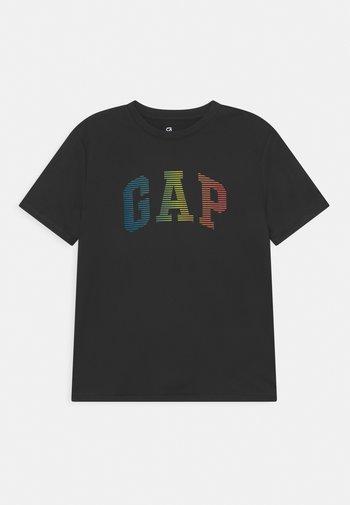 BOY GRAPHICS - Print T-shirt - true black