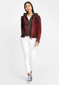 Gipsy - CASCHA LAMOV - Leather jacket - ox red - 1
