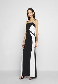 WAL G. - DETAIL DRESS - Vestido de fiesta - black/white - 0