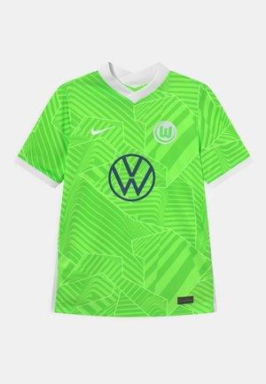 VFL WOLFSBURG UNISEX - Article de supporter - ghost green/white