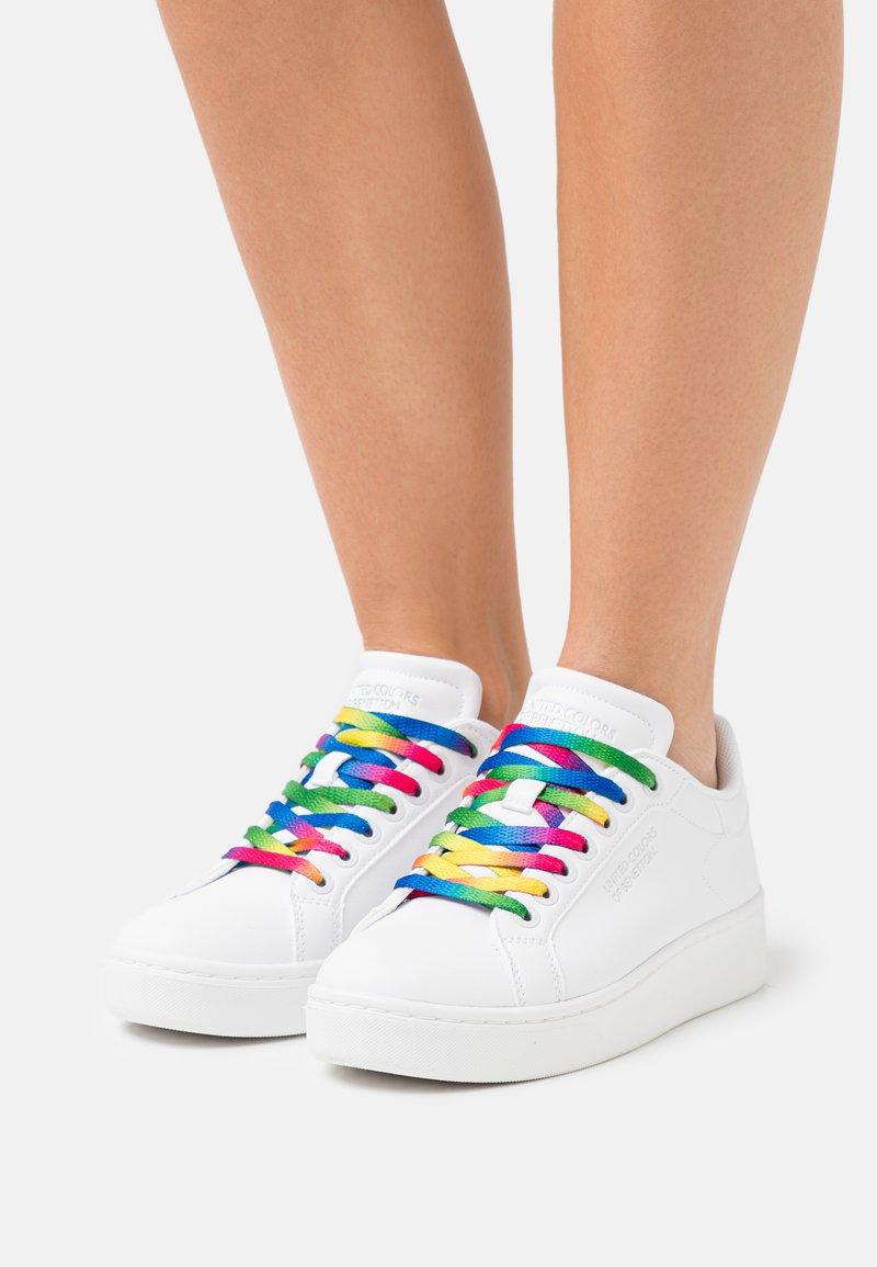 Benetton - TRIPLE - Sneakers basse - white