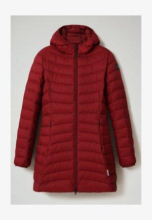 AERONS LONG - Down coat - vint amaranth