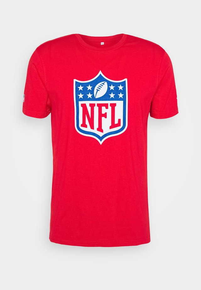 NFL ICONIC SECONDARY COLOUR LOGO GRAPHIC  - Fanartikel - red