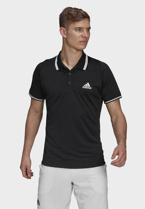 TENNIS FREELIFT POLO SHIRT - Camiseta de deporte - black
