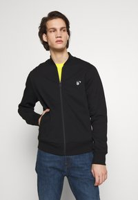 PS Paul Smith - BOMBER - Mikina na zip - black - 0