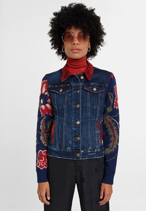 AKRA LEUKA - Denim jacket - blue