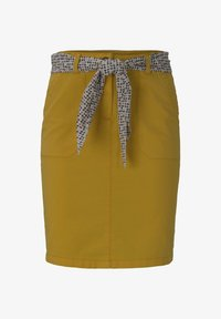TOM TAILOR - Pouzdrová sukně - deep golden yellow - 6
