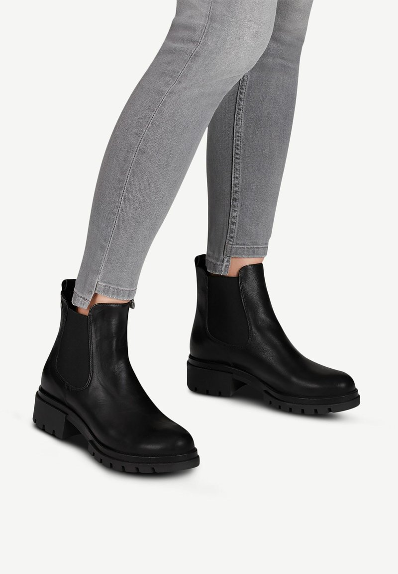 Tamaris - Classic ankle boots - black leather