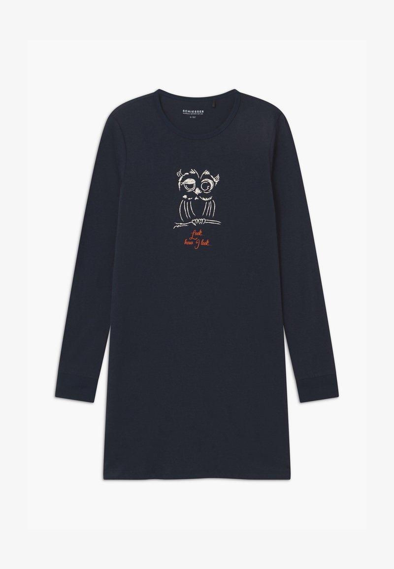 Schiesser - TEENS SLEEPSHIRT - Noční košile - nachtblau