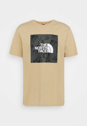 RENEWED PANDA TEE UNISEX - Print T-shirt - hawthorne khaki