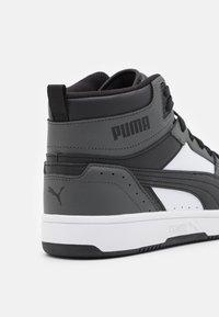 Puma - REBOUND JOY UNISEX - High-top trainers - dark shadow/black/white - 5