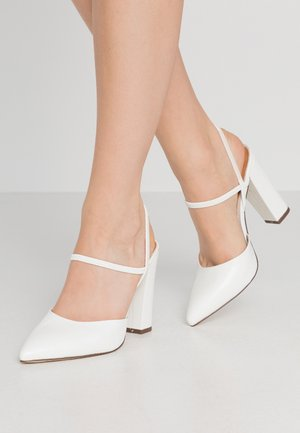 GLALLA - Zapatos altos - white