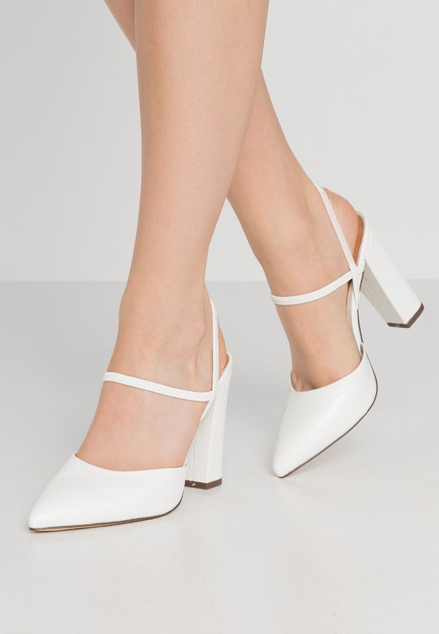 GLALLA - Klassiska pumps - white