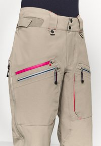 State of Elevenate - WOMENS BACKSIDE PANTS - Pantaloni da neve - tan - 6