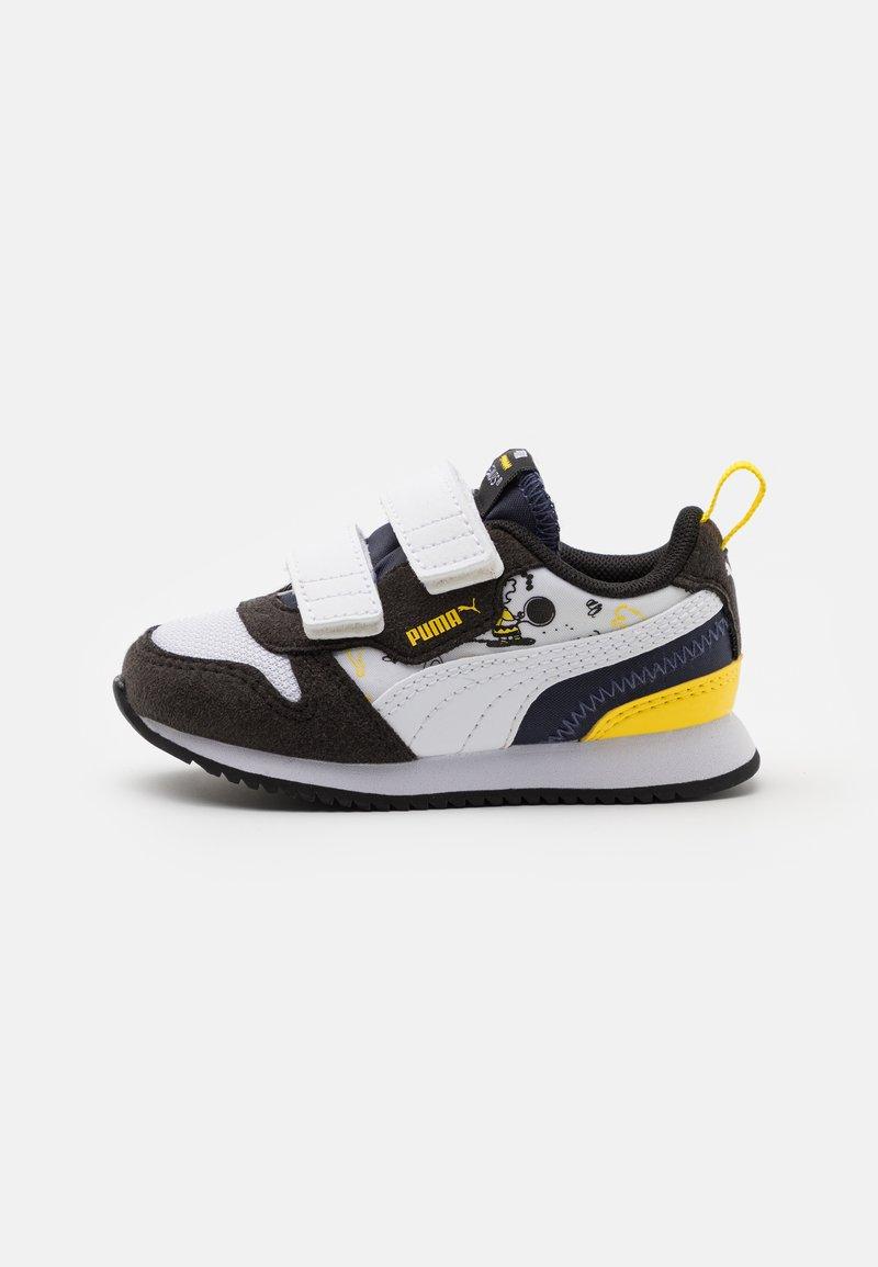 Puma - PEANUTS R78 UNISEX - Sneaker low - black/white/peacoat