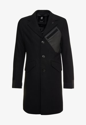 VARVE WOOL COAT - Classic coat - dark black