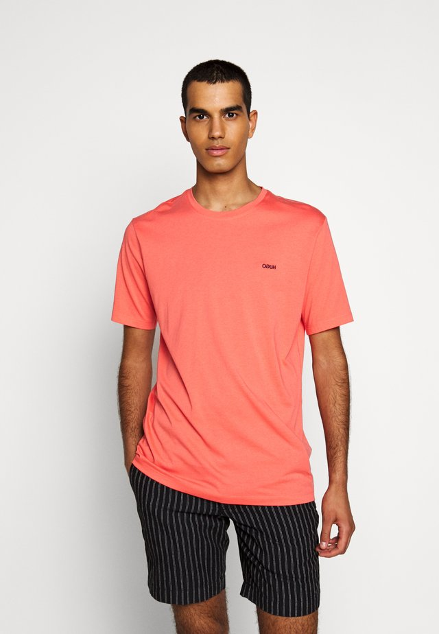 DERO - Basic T-shirt - light pastel red