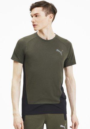 EVOSTRIPE MEN'S HOMMES - T-shirt med print - forest night