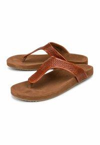 Belmondo - T-bar sandals - mittelbraun - 1