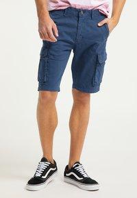 Mo - Shorts - blau - 0