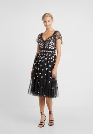 LOVEHEART DRESS - Cocktail dress / Party dress - graphite