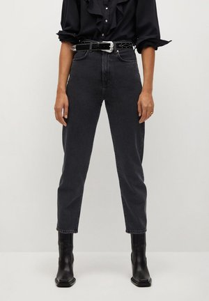 VERONICA - Jeansy Straight Leg - black denim