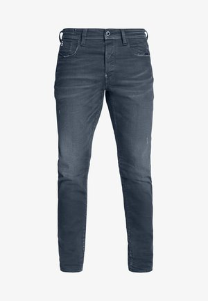 G-BLEID SLIM - Slim fit jeans - teal stretch denim - worn in teal