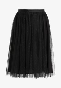 Needle & Thread - KISSES TULLE MIDI SKIRT - Plisséskjørt - ballet black - 3
