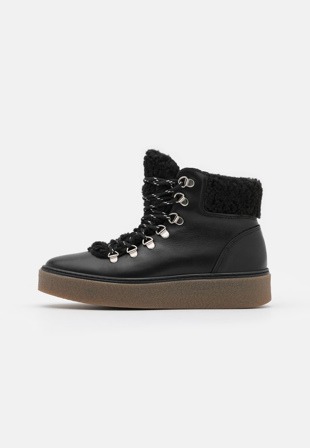 YASISABELL BOOTS - Schnürstiefelette - black