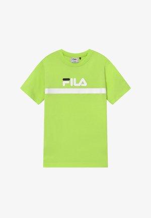 T-shirt con stampa - sharp green