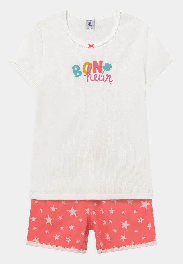 STAR PRINT BON NUIT  - Pyjama - marshmallow
