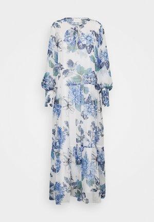 VIVIOLA O-NECK ANKLE  DRESS - Cocktail dress / Party dress - cloud dancer/blue