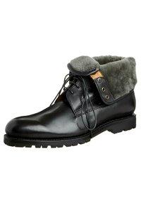Prime Shoes - SANTO - Lace-up ankle boots - black - 0