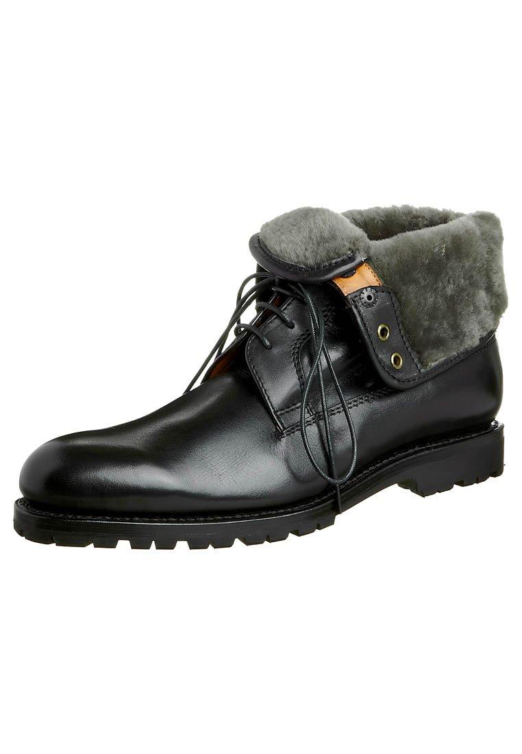 Prime Shoes - SANTO - Lace-up ankle boots - black